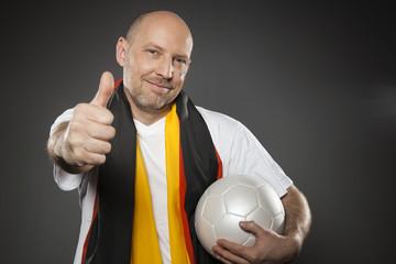 Fussball Fan Deutschland