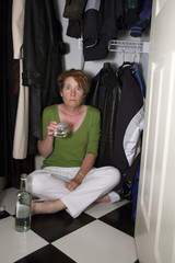 Closet Drinker Surprised