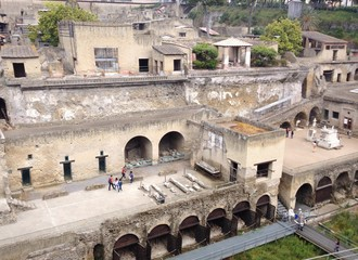 il sito archeologico di Ercolano