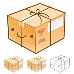 Flexibility as possible a sets of Delivery Box Mascot. Product a