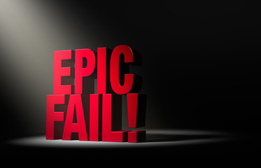 Shining A Light On An Epic Fail
