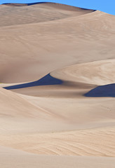 Sand Dunes and Shadows