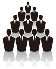 ビジネスマン集団