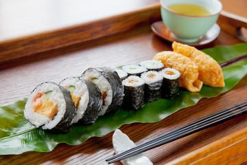 のり巻き いなり寿司 かっぱ巻き