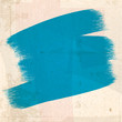 grungy blue paint Strokes