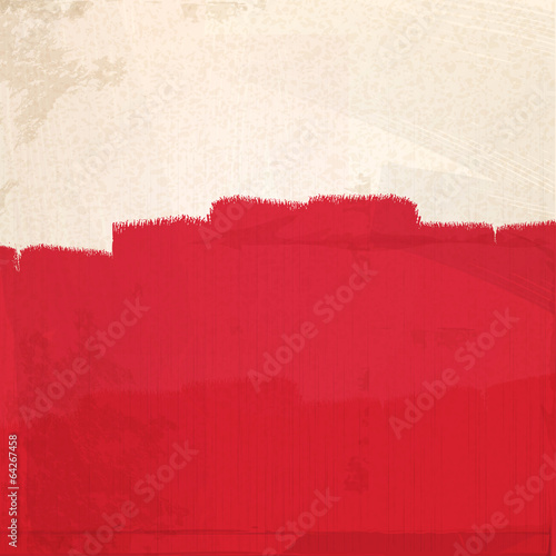 grungy red paint