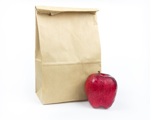Brown Lunch bag paper