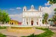 main square church, Suchitoto town in El Salvador - 64269615