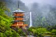 Leinwandbild Motiv Nachi, Japan at Kumano Nachi Taisha Shrine and Waterfall