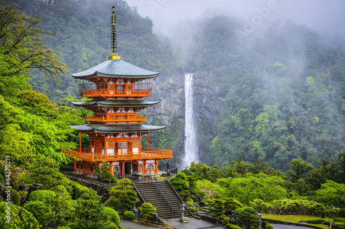 Nachi, Japan at Kumano Nachi Taisha Shrine and Waterfall - 64270219