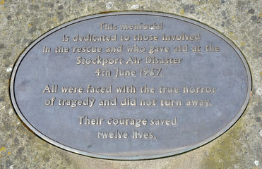 Stockport Air Disaster Memorial