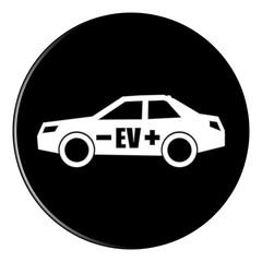 icon - ev electric vehicle - black - g902