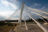 Millennium Bridge In Podgorica, Montenegro poster