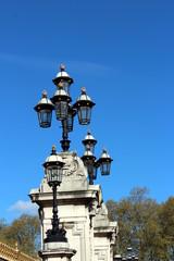 lampioni a Londra