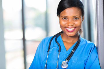 female african american medical professional