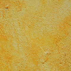 yellow cement wall textured background