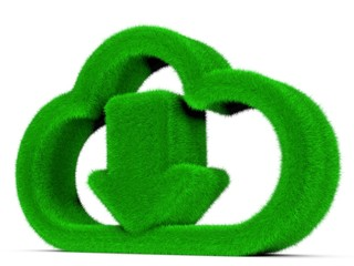 grüne Cloudtechnik