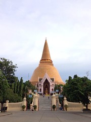 big stupa in thailand