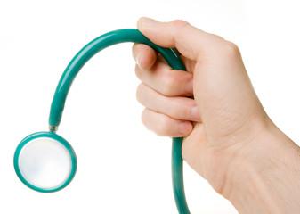 Limp Stethoscope symbolizing impotence