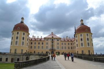 Jachtslot Moritzburg voorkant