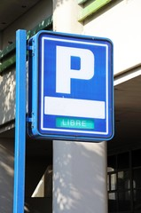 Parking sign, Marbella, Spain © Arena Photo UK