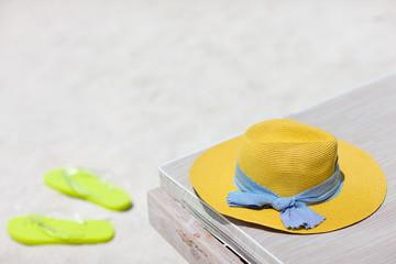 Tropical beach vacation essentials