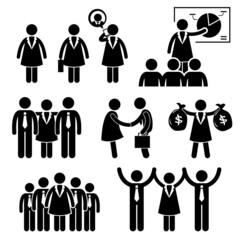 Businesswoman Female CEO Cliparts