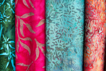 Colorful balinese cloth for sale