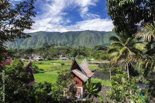 Aluminium Indonesië Rural Landscape.
