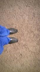 legs black boots