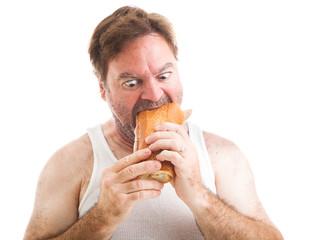 Scruffy Man - Hungry