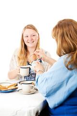 Mother Pours Tea