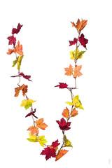 Herbstblätter kette