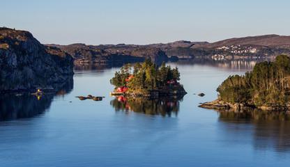 Insel in Norwegen