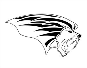 Roaring Lion Head