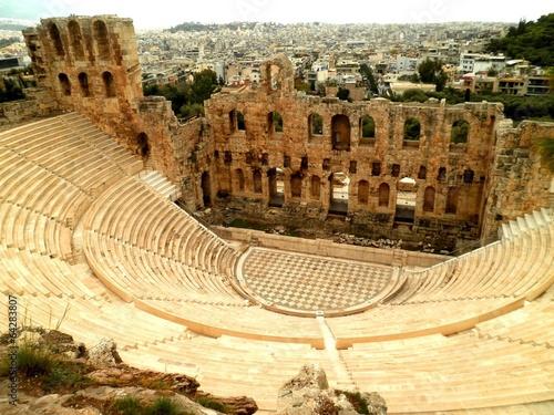 Fotobehang Athene Amphitheatre in Athens
