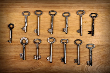 Old Keys Set