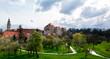 Cesky Krumlov - castle and park
