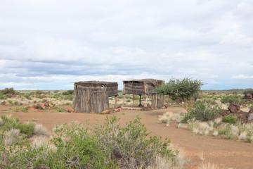 Buschhütten in Afria