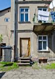 tenement house in Wloclawek poster