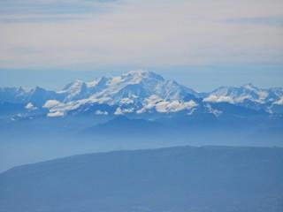 Le Mont-Blanc depuis le Jura