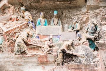 Stone Carving Baodingshan, Dazu