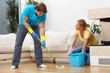 Wash the floor