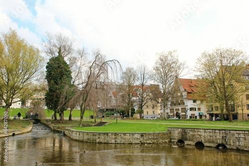 canvas print picture Paderborn Paderquellgebiet