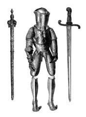 Armour & Sword - 15th century