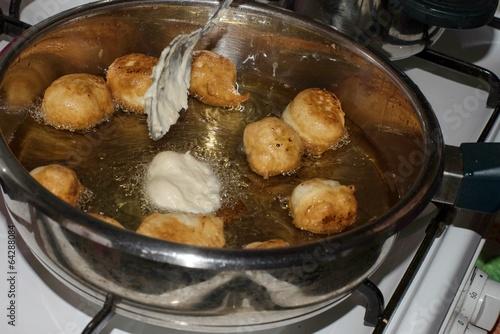 lokma tatlısı yapımı