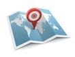 map and pushpin