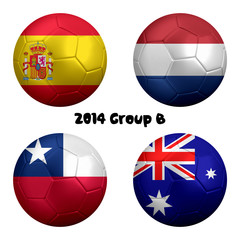 2014 FIFA World Cup Group B Nations