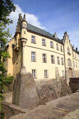 Renaissance castle Hruba Skala in Czech Republic.