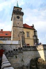 castle Hruba Skala in Czech Republic.